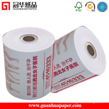 High Quality Pre-Printed Thermal Paper Rolls