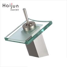 Haijun Super September Purchasing Deck Mounted Thermostatic Upc Brass Waterfall Basin Faucet