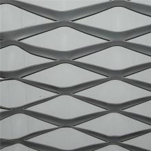 Treillis métallique déployé en acier doux