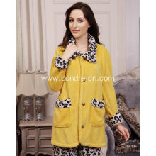 Cosy Female Soft Touch Fleece Pajamas Suit