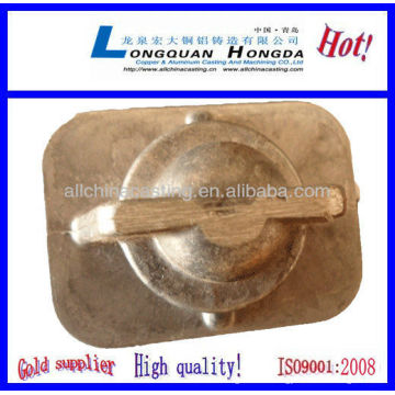 Colada de arena de aluminio