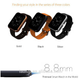 For iOS/android smart watch 2016 Wearable bluetooth smart watch