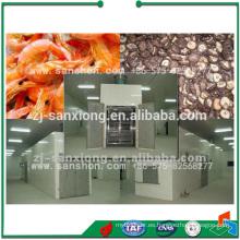 China Secador de túnel más popular, Bandeja de carro Frutas y máquinas de secado de frutos secos