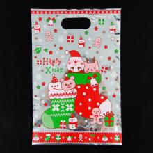 Weihnachtsabdichtungs-Plastiktasche Süßigkeits-Plätzchen-Verpackungs-Geschenk-Beutel
