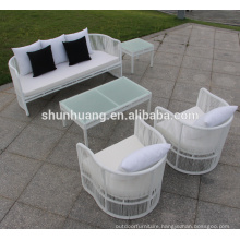 All weather garden furniture outdoor PE rattan wicker sofa set
