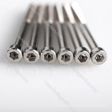 Parafuso de tampão de aço inoxidável personalizado da precisão
