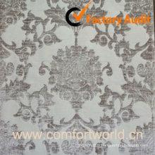 Tissu Jacquard de polyester, utilisé pour les rideaux, canapé