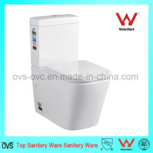 Two Pieces Square Toilet Watermark