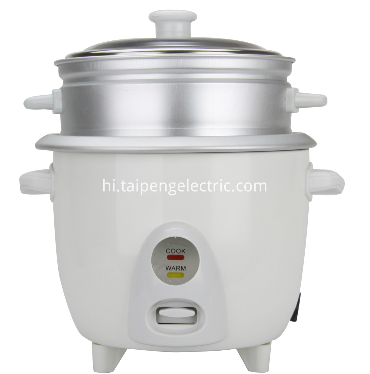 Drum type rice cooker with keep warm
