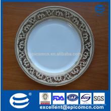 Platos de cerámica de cerámica