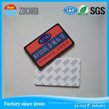 Etiqueta RFID passiva anti-metal para alta temperatura