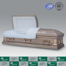 ЛЮКСЫ Оптовая американский стиль металлические шкатулки для кремации