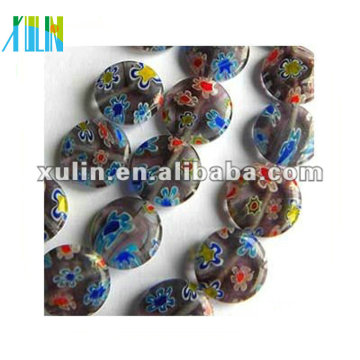wholesale yiwu beads, millefiori glass bead, chevron bead