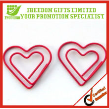 Clip de papel metálico modificado para requisitos particulares promocional
