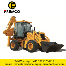 Backhoe Loader With Inspeciton Checklist