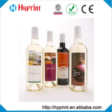 2015 Best quality Pressure Sensitive Label for wine