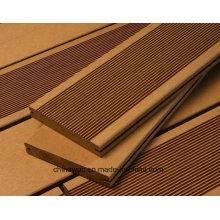 Деревянный пластичный составной decking твердого тела WPC