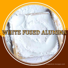White Fused Alumina csand, alumina fundida refratária, preço da bauxita