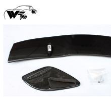 Spoiler arrière à lèvre arrière en fibre de carbone style W176 AMG