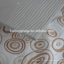 Lisse, panneau de ciment de fibre de grain de bois pour le revêtement extérieur, murs carrelés, plancher