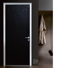 Porte en bois composite étanche pour salle de bain
