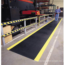 Industrial Diamond Dual-Layer Comfortable Workshop Safety PVC Foam Mat for Standing Area