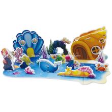 3D Puzzle monde sous-marin