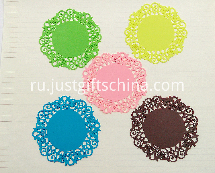 Customized Chinese Style PVC Coasters