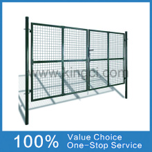 Powder Coated Wire Mesh Fence Gate