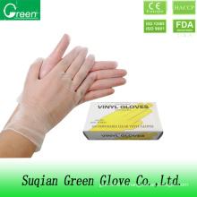 Дешевые прозрачные медицинские перчатки