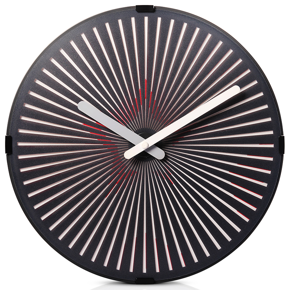 radio controlled analog wall clock