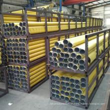 Tubo de liga de alumínio extrudado sem emenda