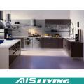 Günstigen Preis Modernes Design Flat Pack Küchenschränke Möbel (AIS-K949)