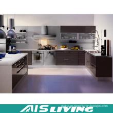 Mobiliário de armários de cozinha de porta de melamina (AIS-K182)