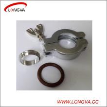 Abrazadera de aluminio Kf de alta calidad del vacío del acero inoxidable