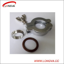 High Quality Aluminum Stainless Steel Kf Vacuum Clamp