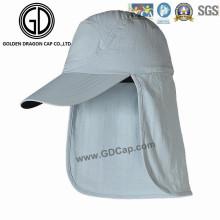 Simple Claasic cómodo Earflap Cap cuello Racing Sports Cap