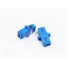 Adaptador óptico de fibra con la cubierta del metal, pedido del OEM dado la bienvenida, adaptador de SC / UPC 9/125
