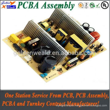 pcb mount relay board with black solder mask, access control pcb pcb & pcba assembly