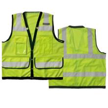 Hi vis safety vest mesh/ tricot