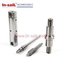 Eixo de aço inoxidável do CNC do ejetor de piso