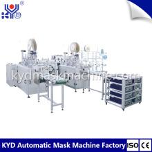 Masque médical non tissé jetable automatique faisant la machine