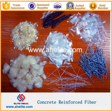 Polyvinylalkohol PVA Monofilamentfabrilliertes Polypropylen PP Faserfaser