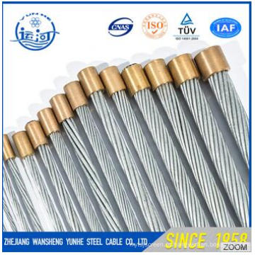 Galvanizado Steel Wire Strand 1X7-4.8mm