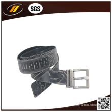 Hochwertige Custom Embossed Gürtel Pure Ledergürtel