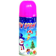 party form snow spray