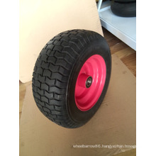 "16""X6.5-8 PU Foam Wheelbarrow Wheel"