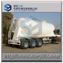 3 Axle 38 M3 Carbon Steel Bulk Cement Tanker Trailer
