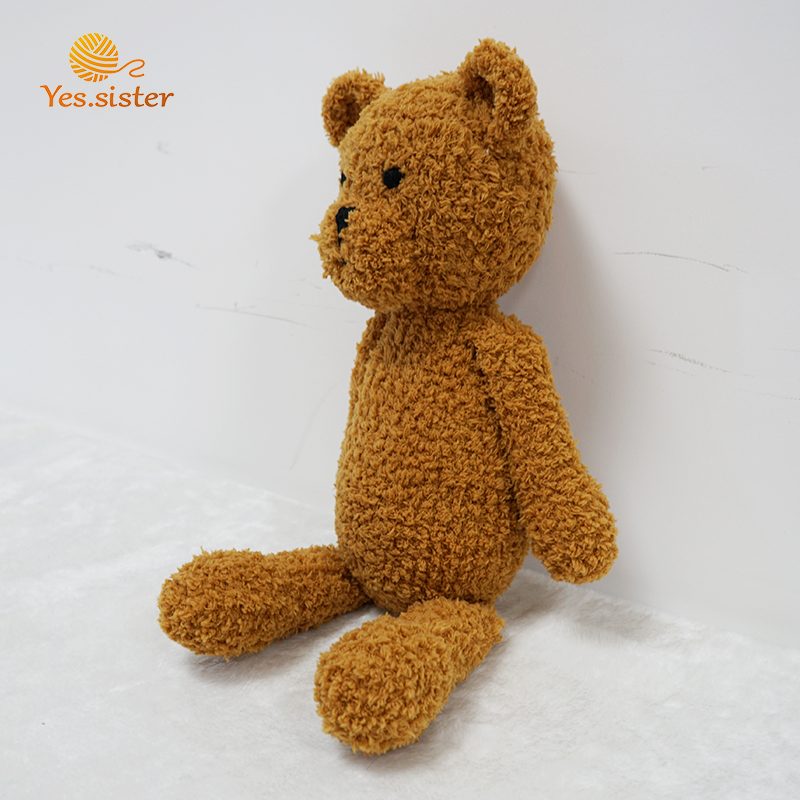 Crochet Bear Toy