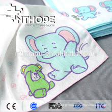 100% cotton washable cute gauze hankerchief